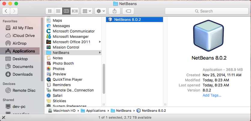 download netbeans 8 0